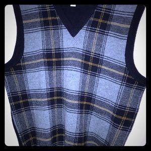 Brooks Brothers wool Vest new sz L